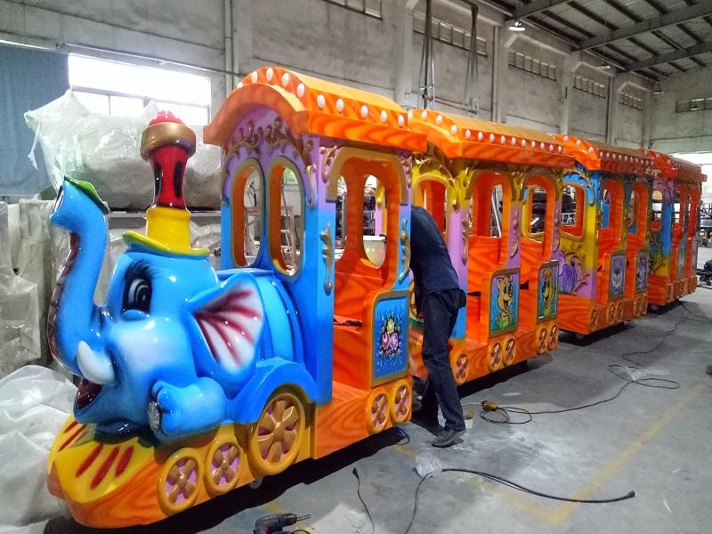 Elephant Train
