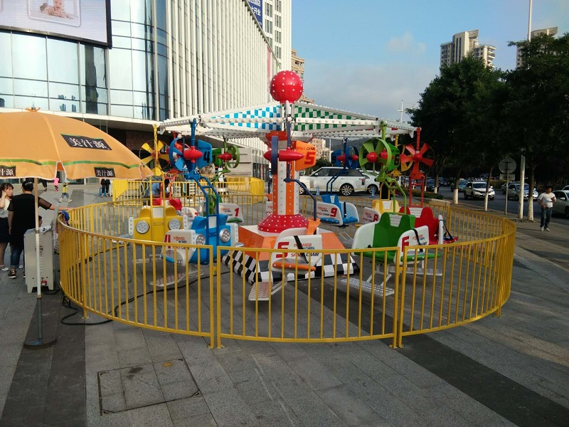 Amusement Park Candy Flying Chair |Outdoor Theme Park Equipment Swing Kids Ride For Sale