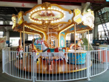 Amusement Park Ride 12 palace hall carousel|luxury Carnival Rides Merry Go Round Game For Sale