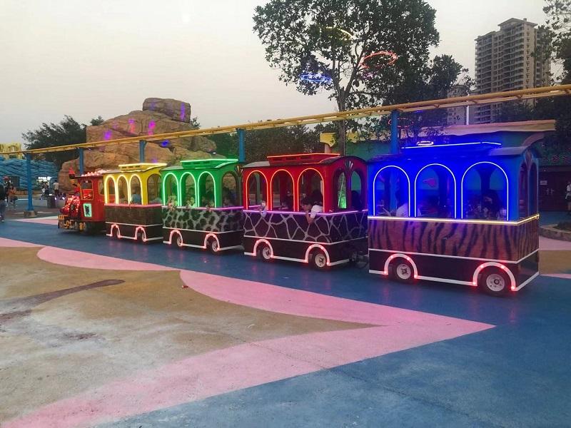 Factory Price Amusement Park36 trackless trains|Theme Park Kids Ride amusement equipment For Sale