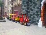 Trackless train|