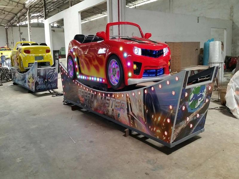 Speed car amusement equipment