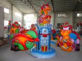 Amusement park Leverage little dragon Outdoor Theme Park Equipment amusement equipment For Sale