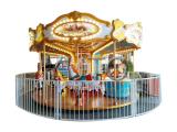 Amusement Park Ride 12 palace hall carousel