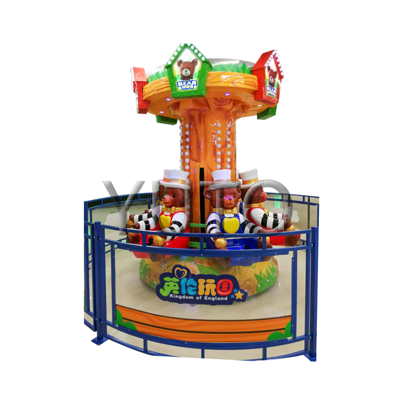 Amusement Park Ride Bear hug|Factory Price luxury Carnival Rides Merry Go Round Game For Sale