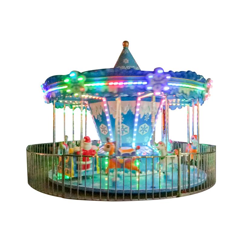 Snow carousel