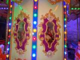 12 antique carousel
