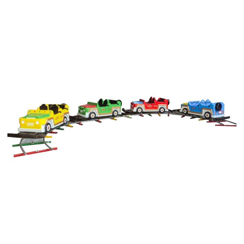 Factory Price Amusement Park Jeep chase train
