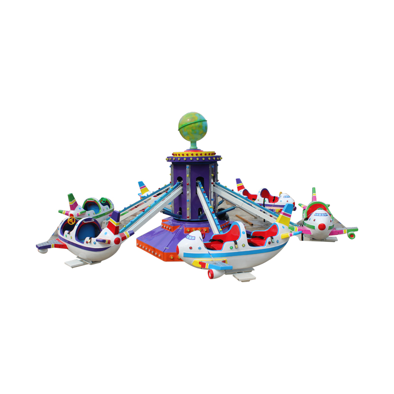Amusement Park Global World Controlled Aircraft