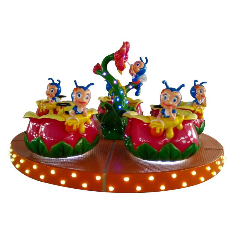 Factory Price amusement park Colorful honeypot|Theme Park Kids amusement equipment For Sale