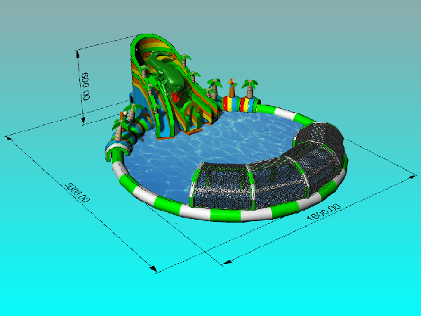 Inflatable Indoor Theme Park YUTO 02