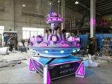 Space flying saucer amusement equipment