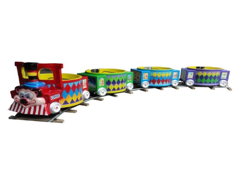 Mickey barrel train