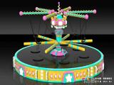 Amusement park Recruit a trampoline