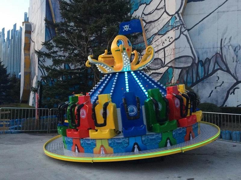 Amusement Park magic octopus Outdoor Theme Park Equipment Kids amusement equipment For Salelogo